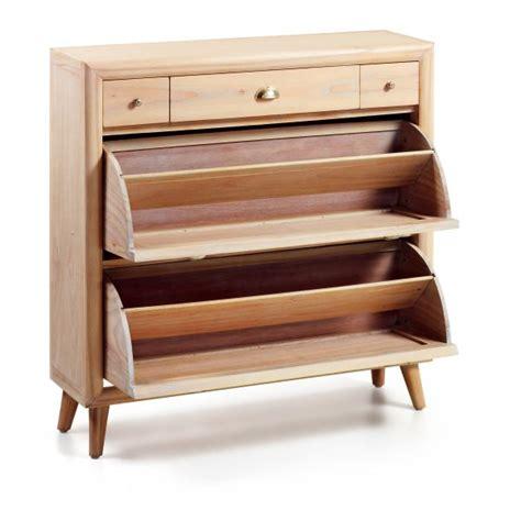 Ordinaire Meuble A Chaussure En Bois #1: meuble-a-chaussures-en-bois-massif-2-portes.jpg