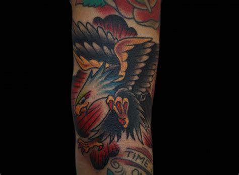 tattoo eagle old arm old school eagle tattoo by inkrat tattoo