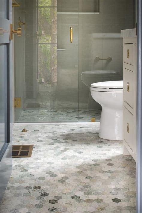 Hex Tiles For Bathroom Floors by Hex Bathroom Floor Tile Gurus Floor