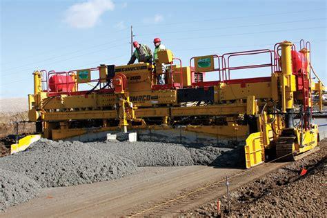 Paving Supplies Gomaco Corporation Manufacturer Of Concrete Slipform