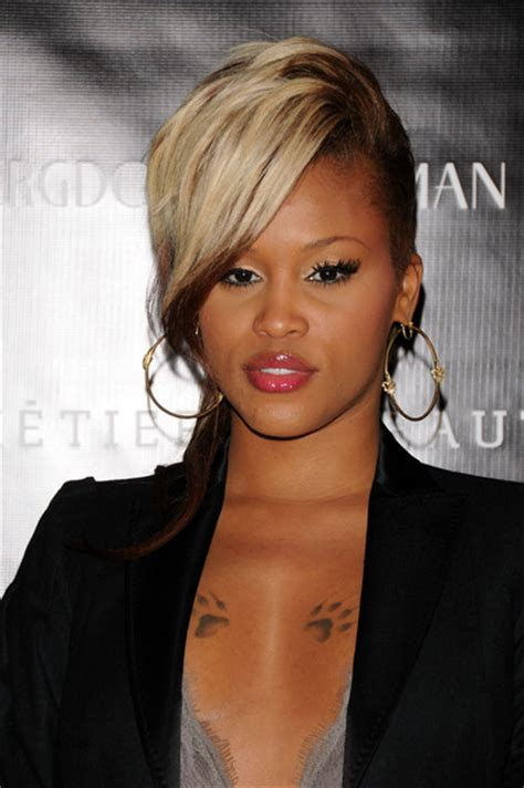 good haircuts for rappers eve half up half down eve hair looks stylebistro