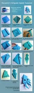 Origami Squid - origami squid tutorial by pecatrix on deviantart