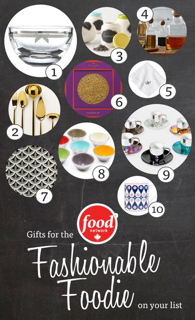 Haute Gift Guide For The Fashionable Foodie by Gift Guide For The Fashionable Foodie