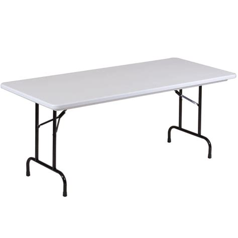 flexible table correll folding table 30 quot x 96 quot ter resistant plastic