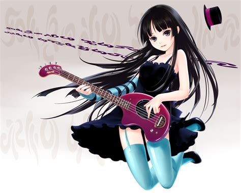 anime girl playing guitar wallpaper anime girl 128 wallpapers hd wallpapers id 7435