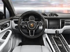 Porsche Macan Inside The New Porsche Macan Interior Design