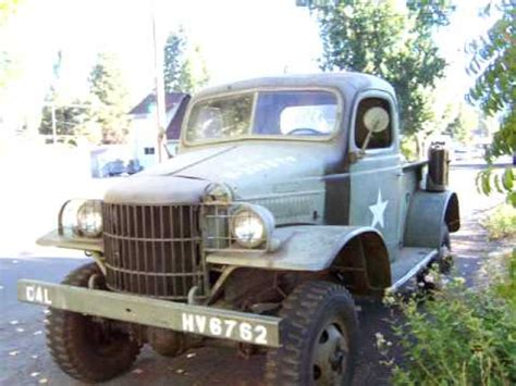 military wc dodge power wagon derivative part    youtube