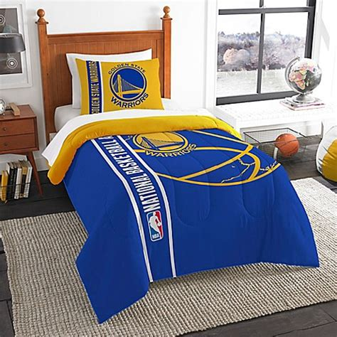 golden state warriors bedding nba golden state warriors printed twin comforter by the
