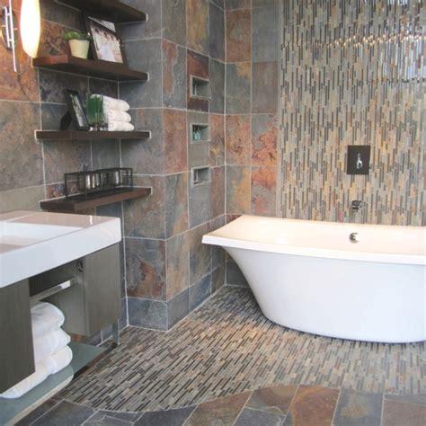 bathroom slate tile ideas 232 best images about modern bathroom decorating ideas on traditional bathroom