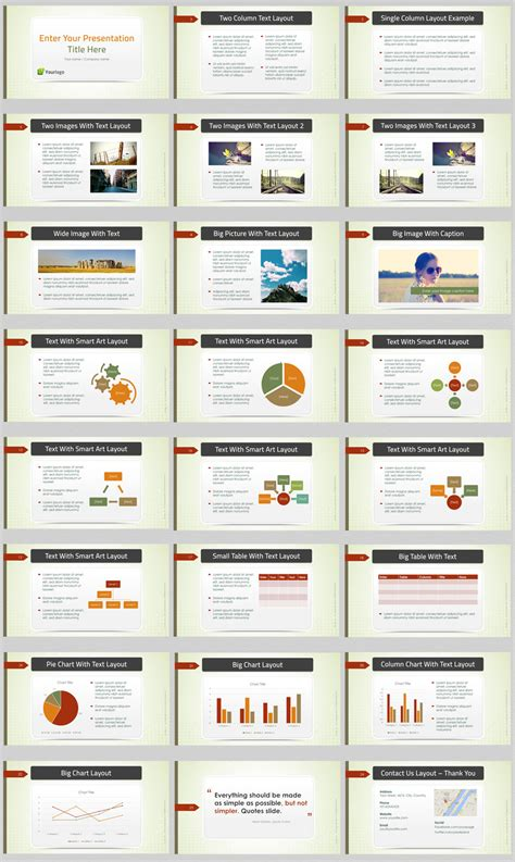 powerpoint business presentation templates green business powerpoint template best business