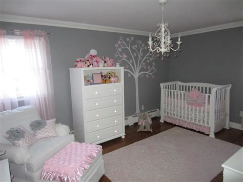 Pink And Gray Nursery Decor Thenurseries Pink Nursery Decor