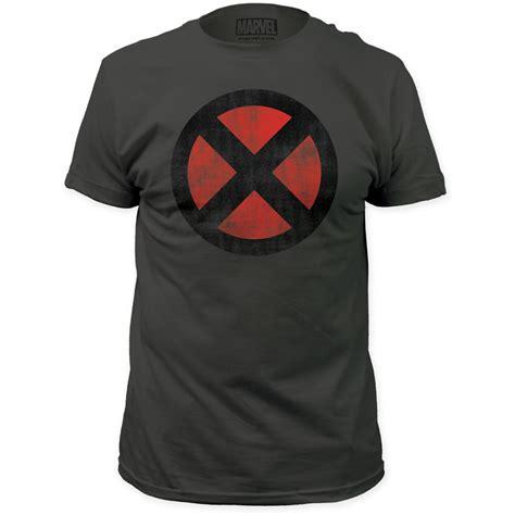 Tshirt Xmen 2 t shirt distressed logo nerdkungfu