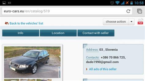 mobile version of mobile version of cars website