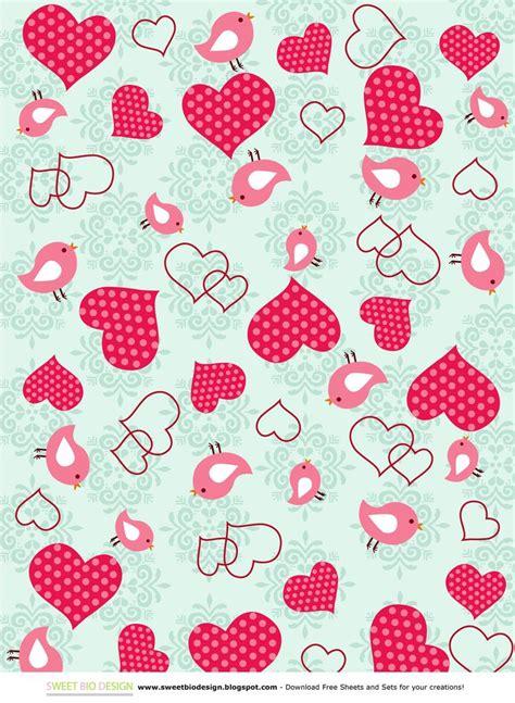 paper valentines sweet bio design sweet set di carte sweet