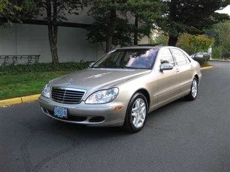 2003 Mercedes S430 by 2003 Mercedes S430 Luxury Sedan Navigation 84k