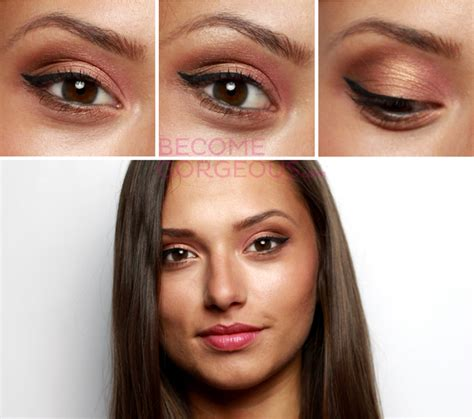 colors that bring out brown glam hazel makeup tutorial bring out your