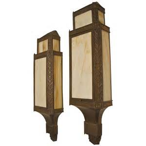 deco wall sconces large bronze deco wall sconces at 1stdibs