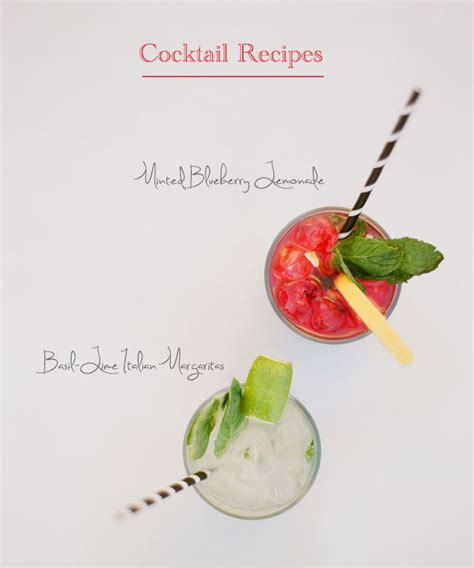 fun signature cocktail recipes for your wedding green