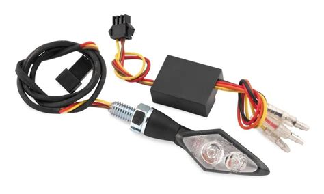 led resistors motorcycle bike master mini led turn signals with resistors revzilla