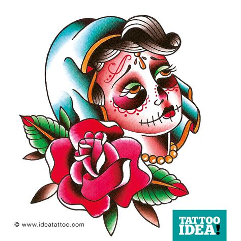 la catrina tattoo ideatattoo
