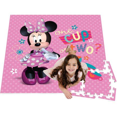 Disney Mickey Mouse Play Mat - 4 v 4 activity play mat minnie mouse walmart