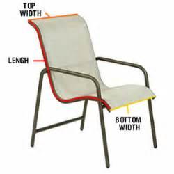 Patio Chair Repair Parts Fl 032 Chair 1 Sling