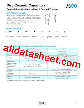 avx capacitor datasheet search 5ss103mbkcc datasheet pdf avx corporation