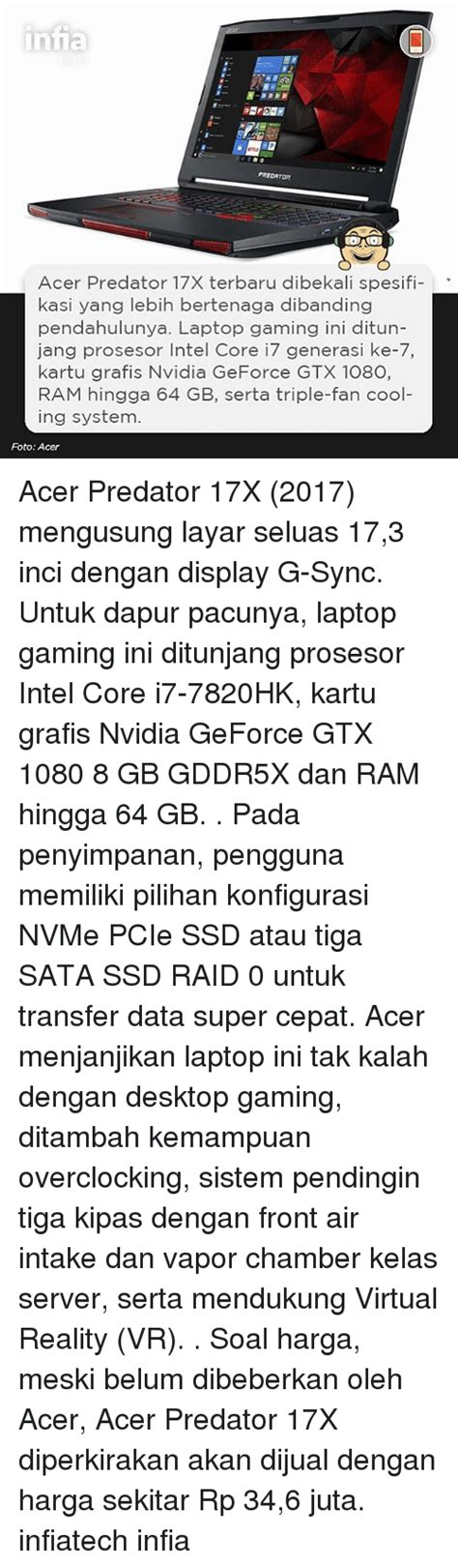 Harga Acer Predator 17x 25 best memes about ssd ssd memes