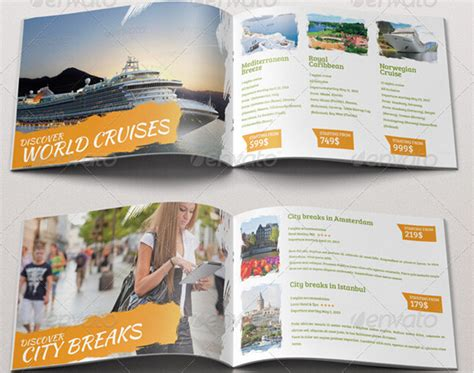 travel and tourism brochure templates free 10 appealing travel tourism brochure templates to boost