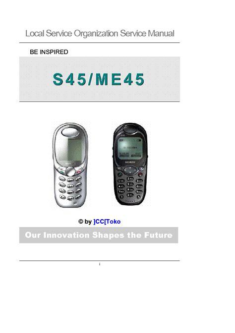 baterai siemens me45 s45 siemens s45 me45 service manual schematics