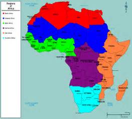 map of africa regions deboomfotografie