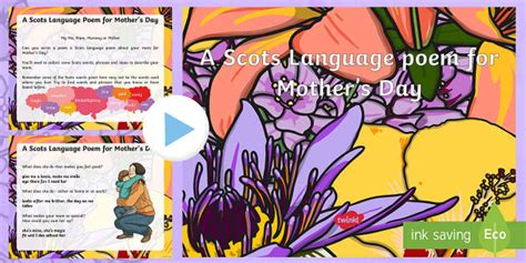 Zulu Poems For Mothers Day A Scots Language Poem For S Day Powerpoint Cfe