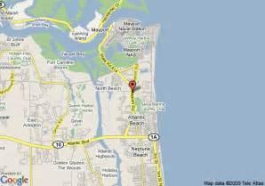 map of best western mayport inn and suites atlantic