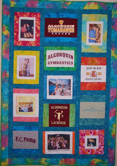 T Shirts To Quilts by Quilted With Tlc Quilt Gallery T Shirt Quilts