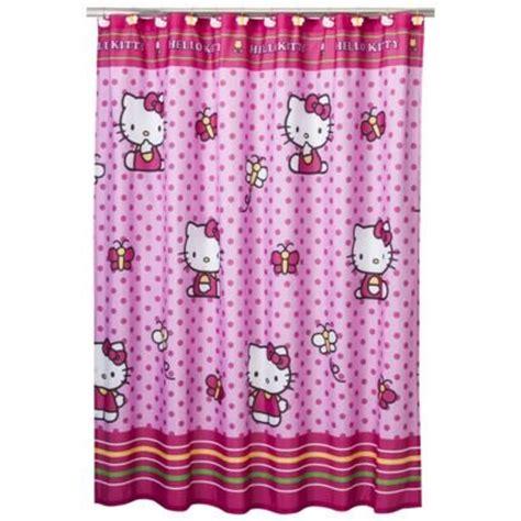 hello kitty shower curtains hello kitty shower curtain hello kitty pinterest
