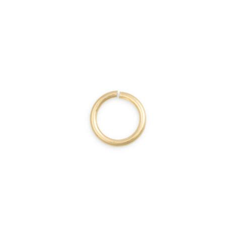 what are jump rings for jewelry jump ring 5 8mm open 14k yellow gold jewelry supplies