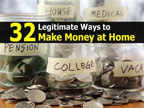Ways To Make Money At Home 32 legitimate ways to make money at home
