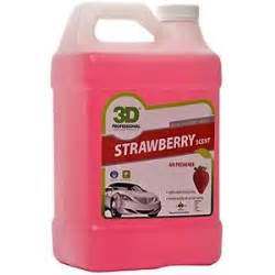 Car Air Freshener Gallon 3d Air Freshener Strawberry 1 Gallon New Ebay