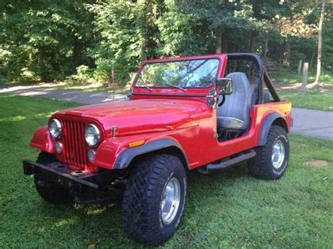 Buchanan Jeep Buy New Cj7 Jeep 4 X 4 Fiberglass Chevy V8 In