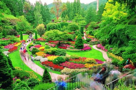 top world travel destinations butchart gardens canada