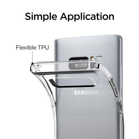 Spigen Liquid Series Samsung Note 8 Original Clear spigen liquid samsung galaxy note 8 clear