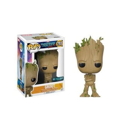 Funko Pop Groot Guardians Of The Galaxy funko pop groot guardians of the galaxy vol 2 207
