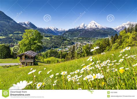 Swiss Chalet House Plans by Mountain Landscape In The Bavarian Alps Berchtesgaden