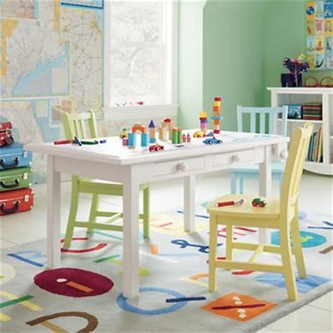 Land Of Nod Table by Land Of Nod S White Activity Table Things To Do With The