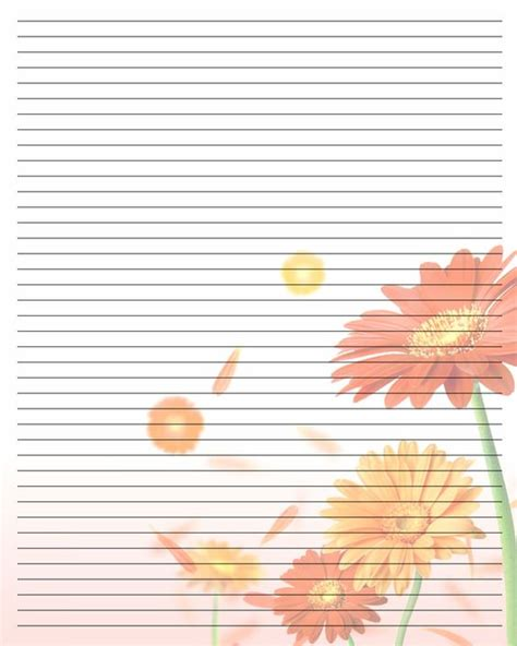 printable notebook paper with designs printable writing paper 107 by aimee valentine art