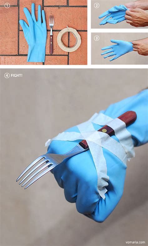 How To Make A Wolverine Claws Out Of Paper - low budget meh ro