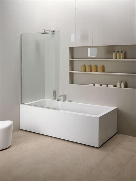 paradoccia per vasca da bagno parete fissa sopravasca