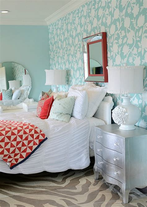 5 ways to get this look aqua bedroom