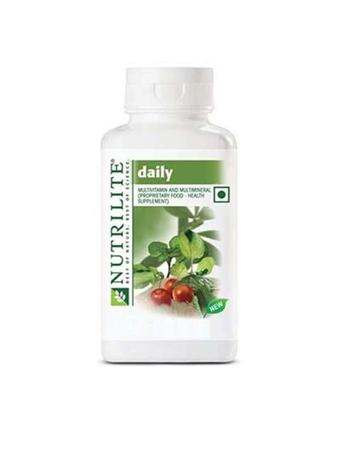 Vitamin Daily Amway Amway Nutrilite Daily 120 Tablet Buy Amway Nutrilite
