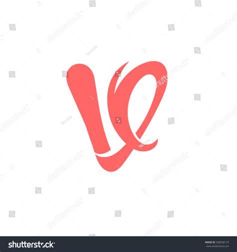 letter template design vector letter v logo design vector template stock vector